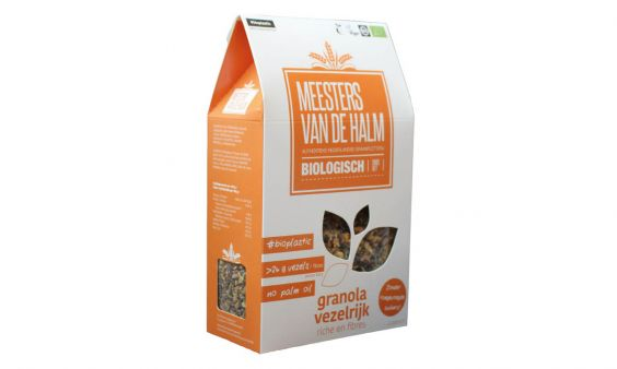 Biologische granola vezelrijk