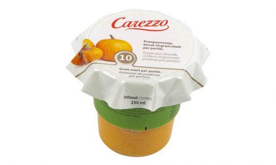 Eiwitverrijkt Carezzo Pompoensoep