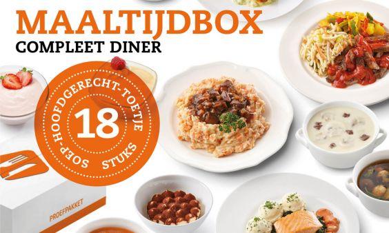 Maaltijdbox Compleet Diner