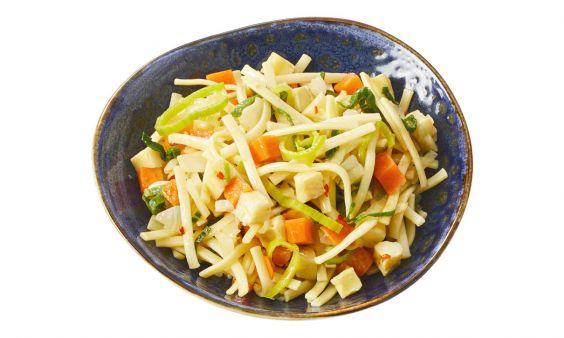 Zoutarm Portie vegetarische bami