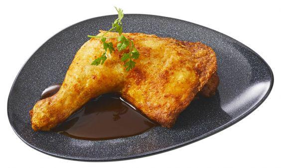 Zoutarm Kippenbout met kippenjus