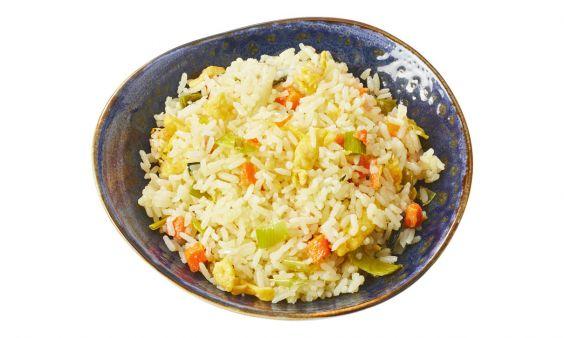 Standaard Vegetarische nasi