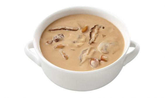 Vegetarische Paddenstoelensoep (zoutarm)