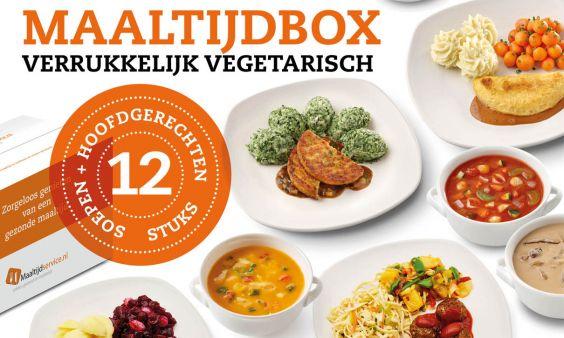 Maaltijdbox Verrukkelijk Vegetarisch