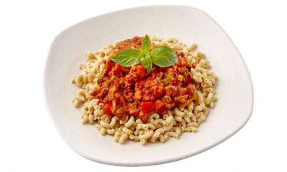 Standaard Vegetarische volkoren macaronischotel
