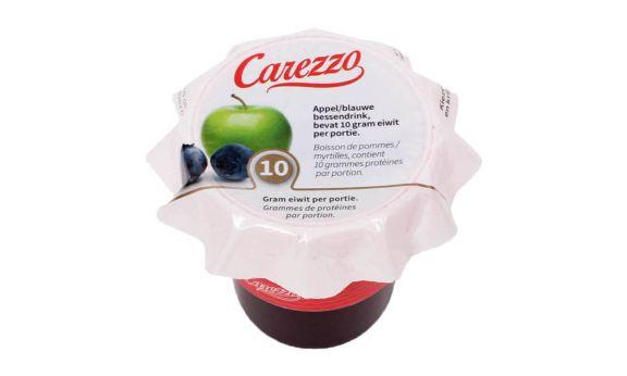 Carezzo Appel-Blauwe Bessensap - eiwitverrijkt