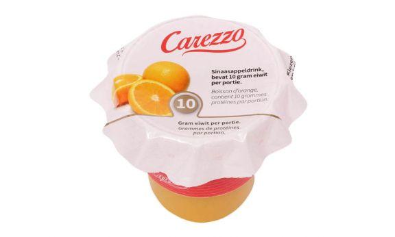 Eiwitverrijkt Carezzo Sinaasappel fruitdrink