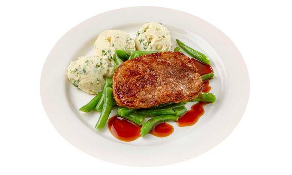 Hamlapje met Sperziebonen (gluten- & lactosevrij)