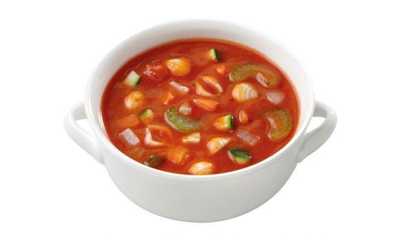 Vegetarische Minestronesoep (zoutarm)