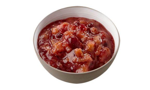 Standaard Rabarber cranberry compote