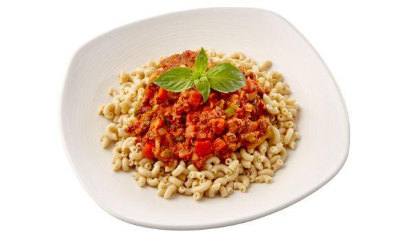 Vegetarische Macaronischotel volkoren