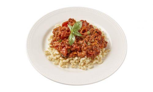 Eiwitverrijkt Carezzo Macaroni Bolognese