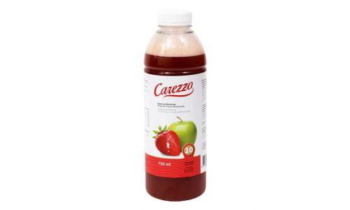 Eiwitverrijkt Carezzo Appel & aardbei fruitdrink