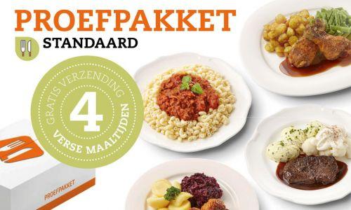 Proefpakket kant-en-klaar maaltijden - standaard