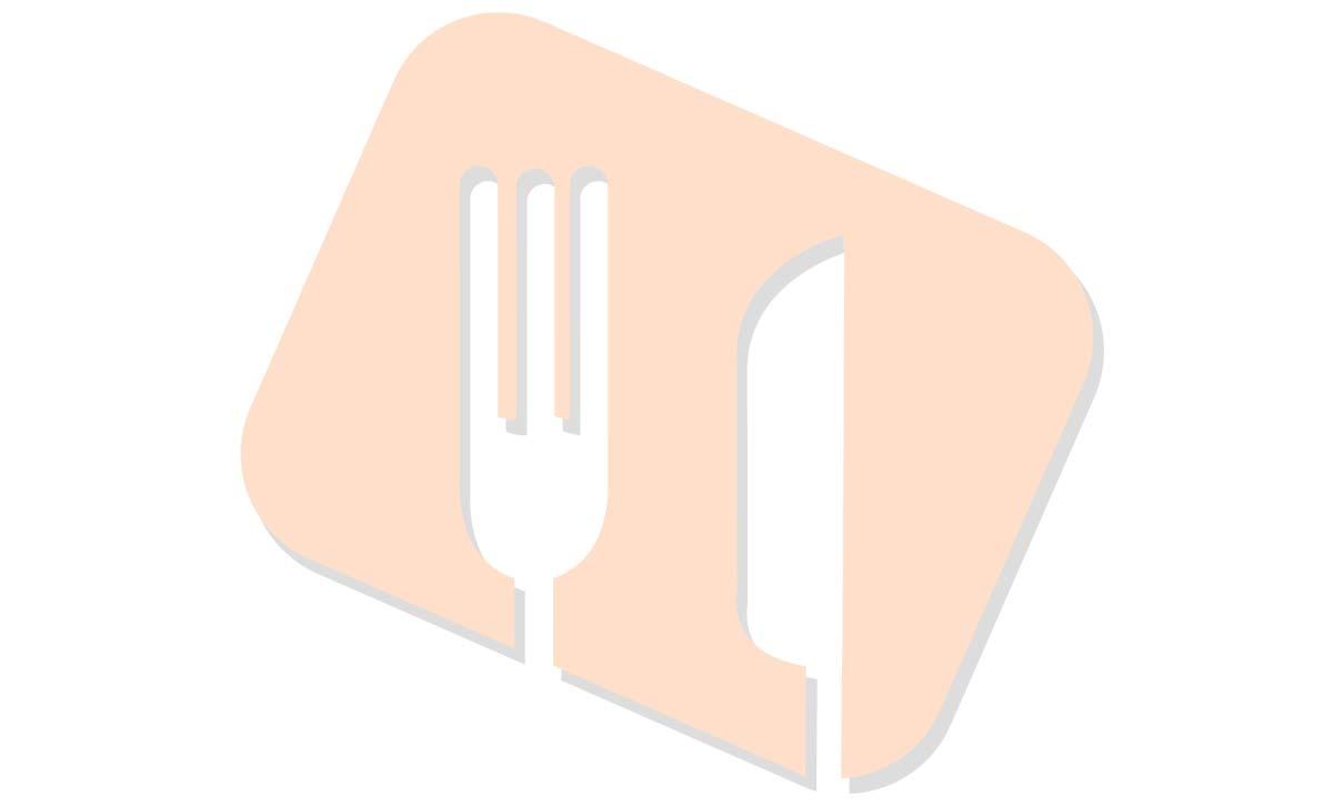 GLU LAC Zalmfiletstukjes in kervelsaus. Penne met groente