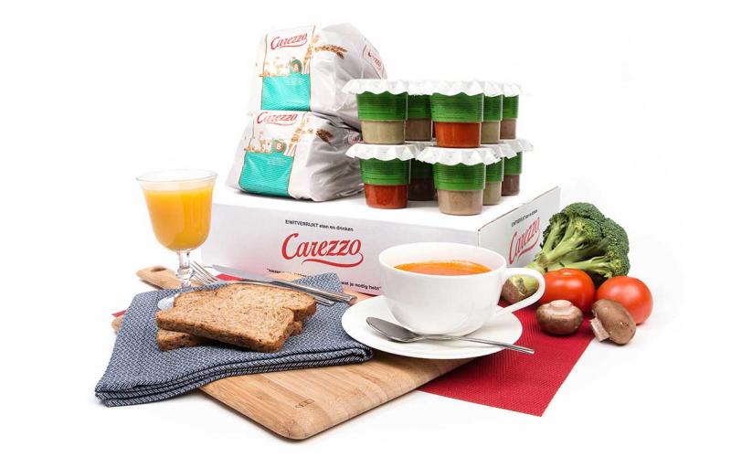 Eiwitinname verbeteren met eiwitverrijkte producten van Carezzo