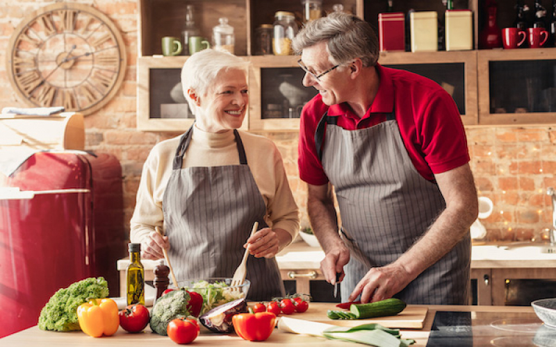 Koken met ouderen